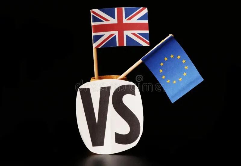 La Grande Bretagne Partante De L Union Europeenne Est Ici