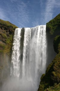 Large Never-ending Waterfall Stock Photos - Image: 8608313
