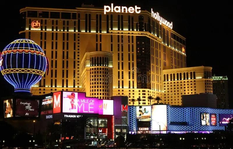 Las Vegas Planet Hollywood editorial stock photo Image of strip  7579788