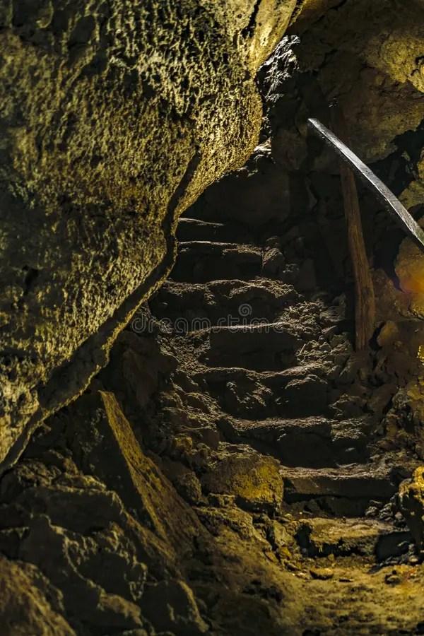 Lava Tunnel. Galapagos. Ecuador Stock Image - Image of nature. caves: 97548923