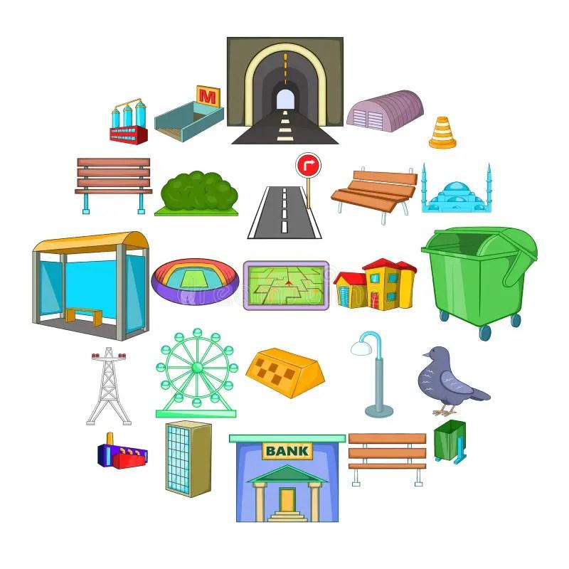 infrastructure cartoon stock illustrations