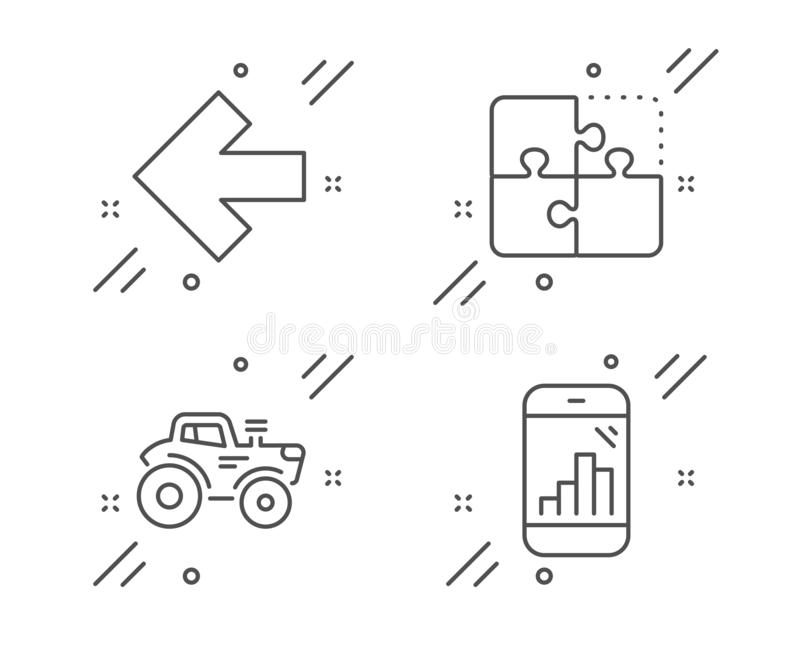 Puzzle Graph Stock Illustrations
