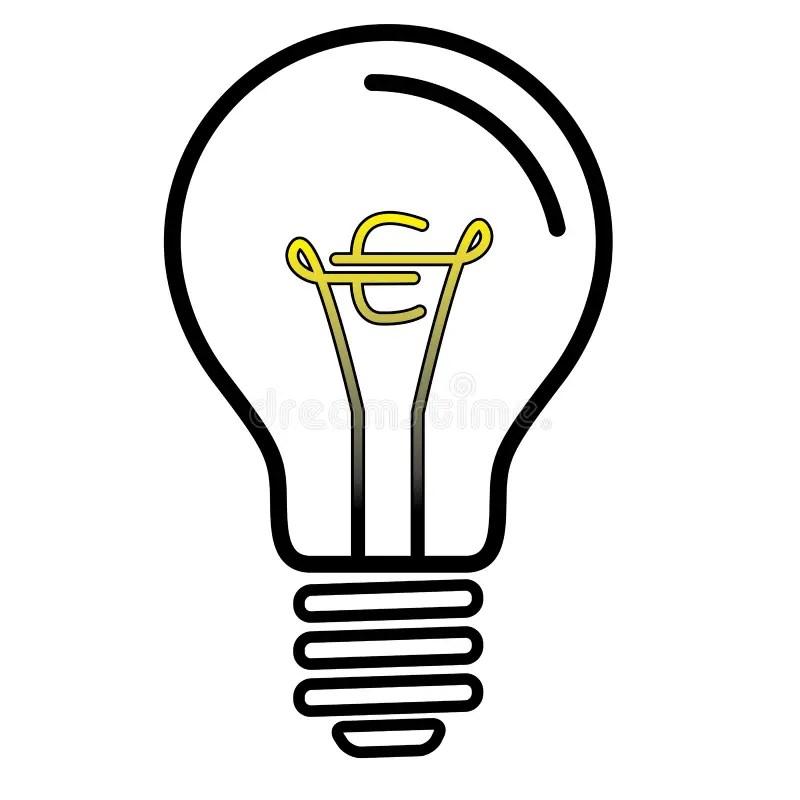 Lamp Symbol. Cheap Pull With Lamp Symbol. Perfect Light