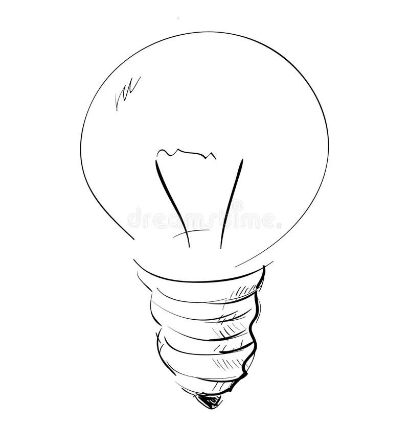 Light bulb stock vector. Illustration of equipment, design