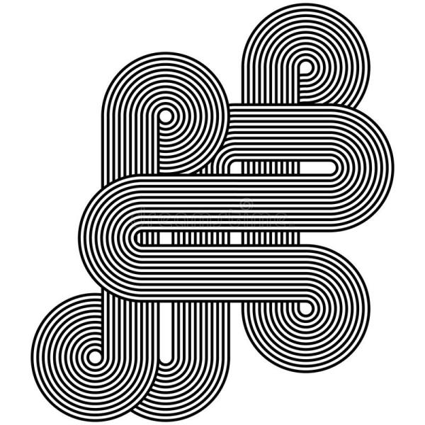 Abstract Line Art Designs