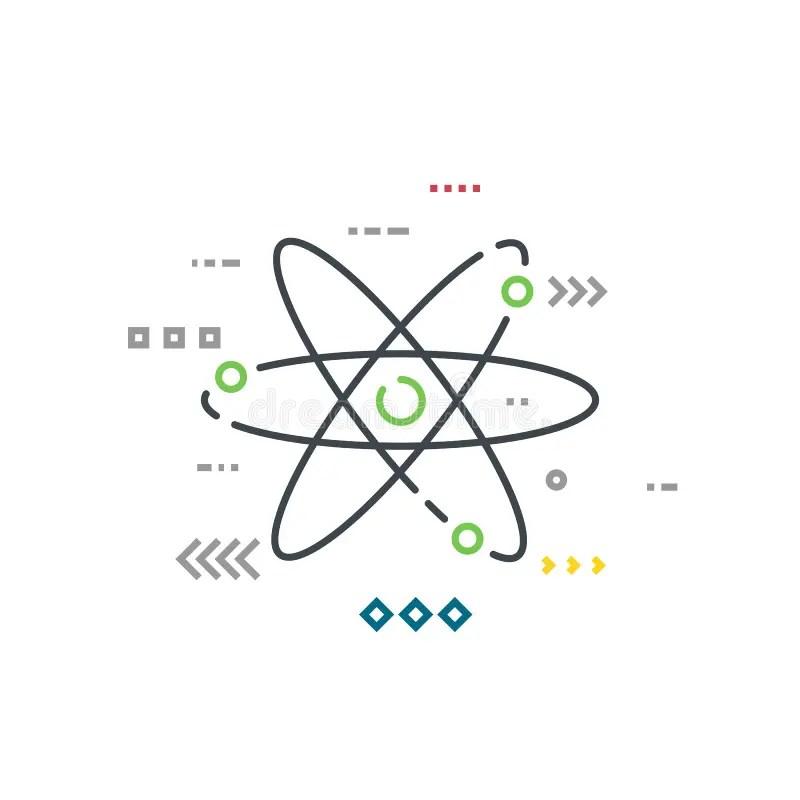 Bohr Model Of Oxygen Atom With Proton, Neutron And