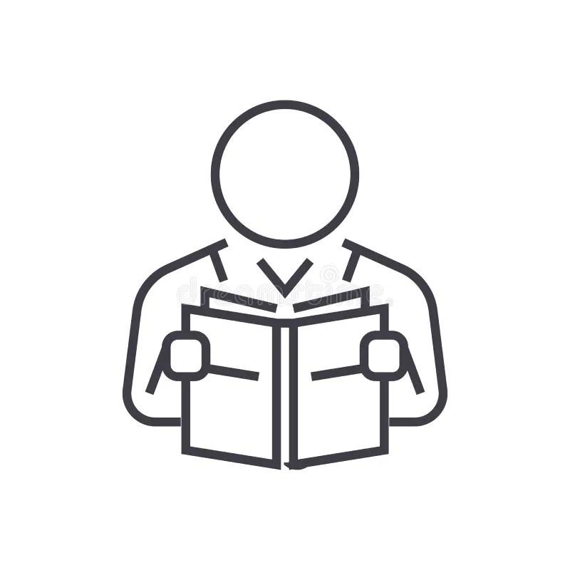 Icona della lettura illustrazione vettoriale