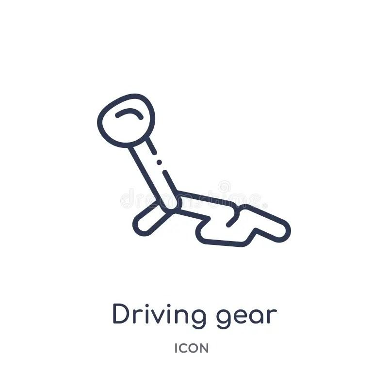 Gear shift stock illustration. Illustration of occlusion