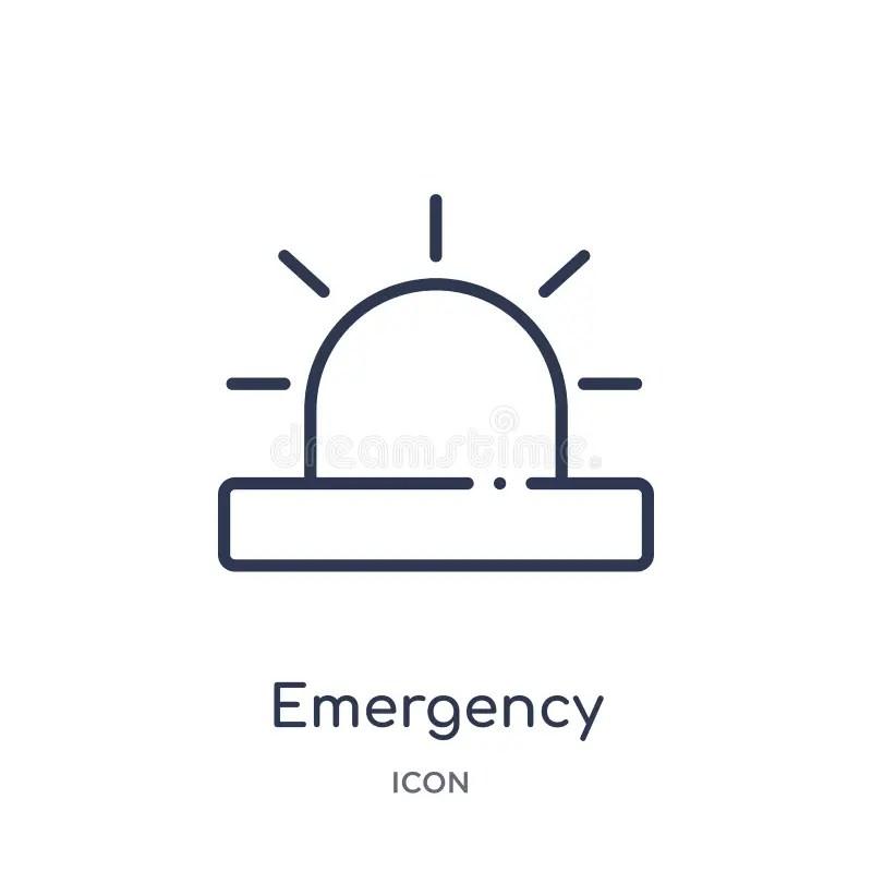Emergency Kit Icon In Trendy Design Style. Emergency Kit