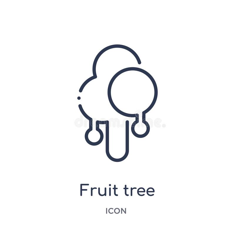 Fruitful stock illustration. Illustration of intelligence