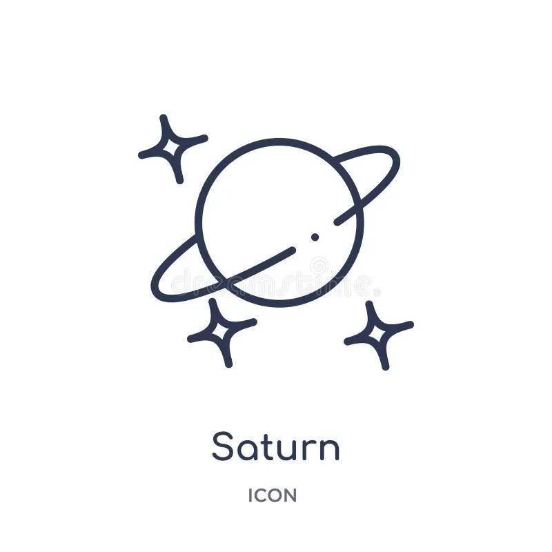 Saturn Astronomy stock vector. Illustration of stars