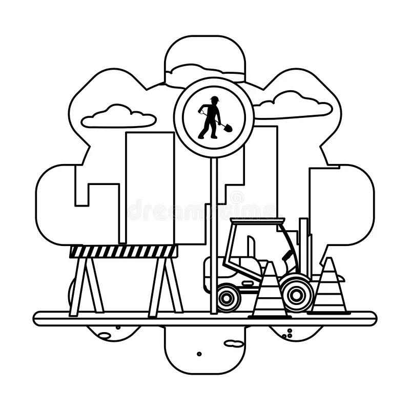 Gabelstapler Stock Illustrationen Vektors & Klipart