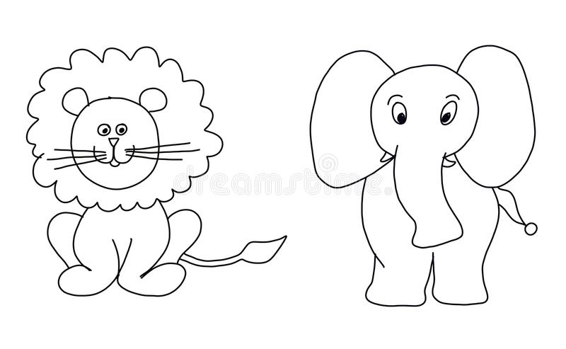 Goat Cartoon Vector stock vector. Illustration of design