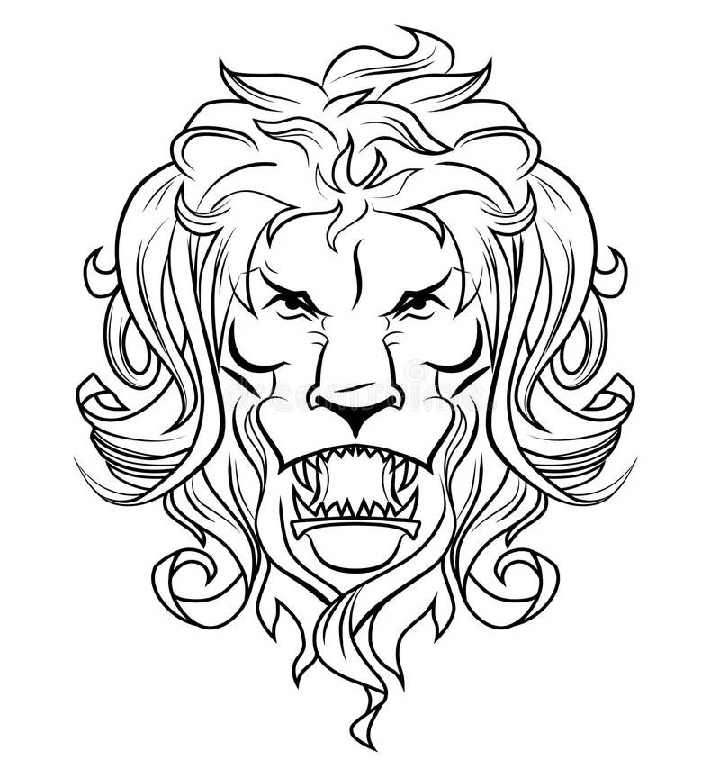 Free Vector Graphic Africa Animal Cat Heraldry Lion