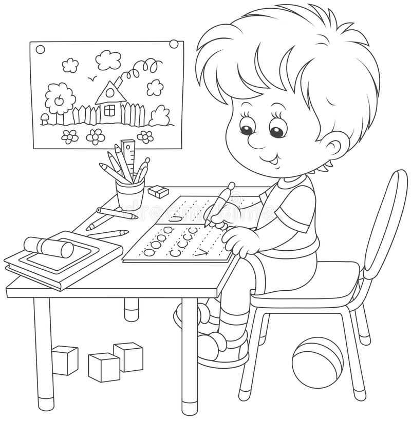 Toys stock illustration. Illustration of gifts, toys
