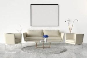 frame empty living sofa template vuota cornice frames wohnzimmer wand bilderrahmen interior chairs templates leerer ein creativemarket leeren den rooms