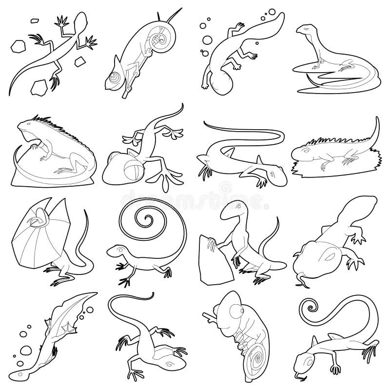 stencil vector animals stock