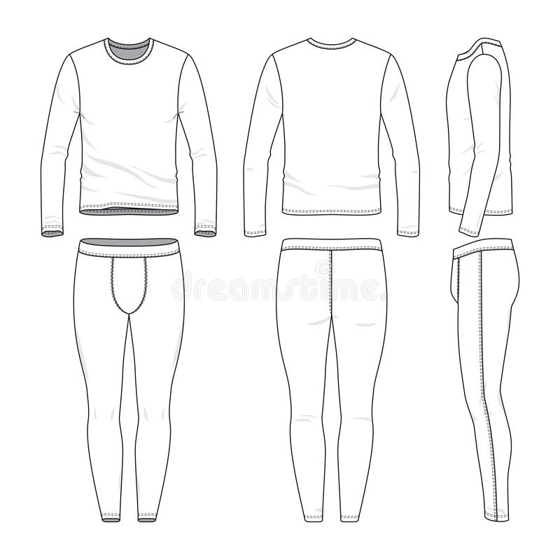 Leggings stock vector. Illustration of fabric, basic