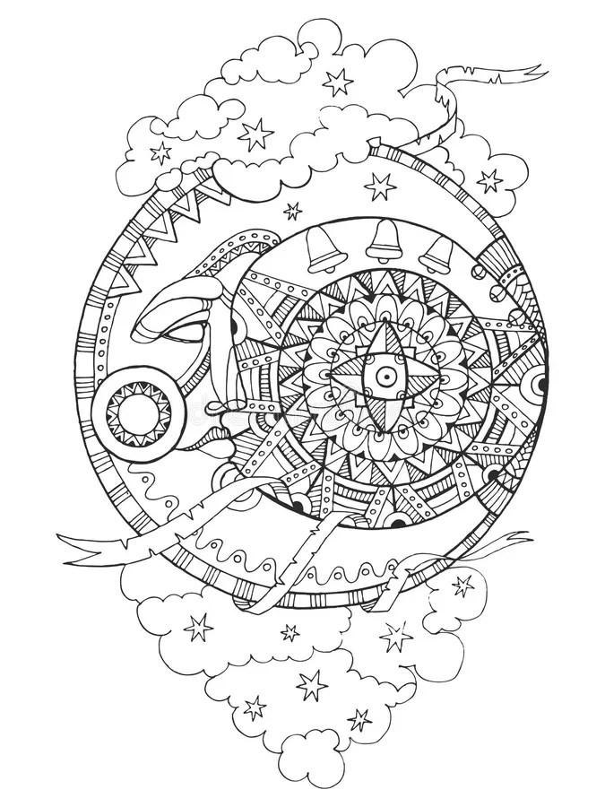 [Download popolare! √] Luna Piena Disegno Da Colorare