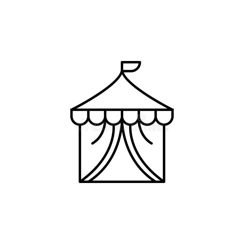 Amusement Park Concept stock vector. Illustration of