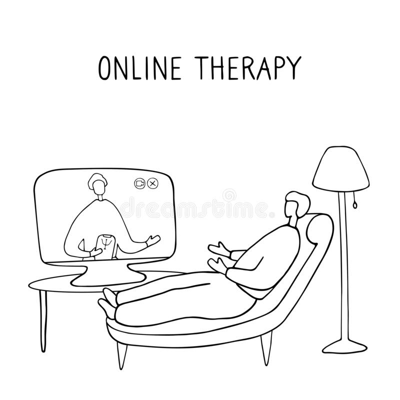 Online Psychotherapy Practice. Remote Psychological Help