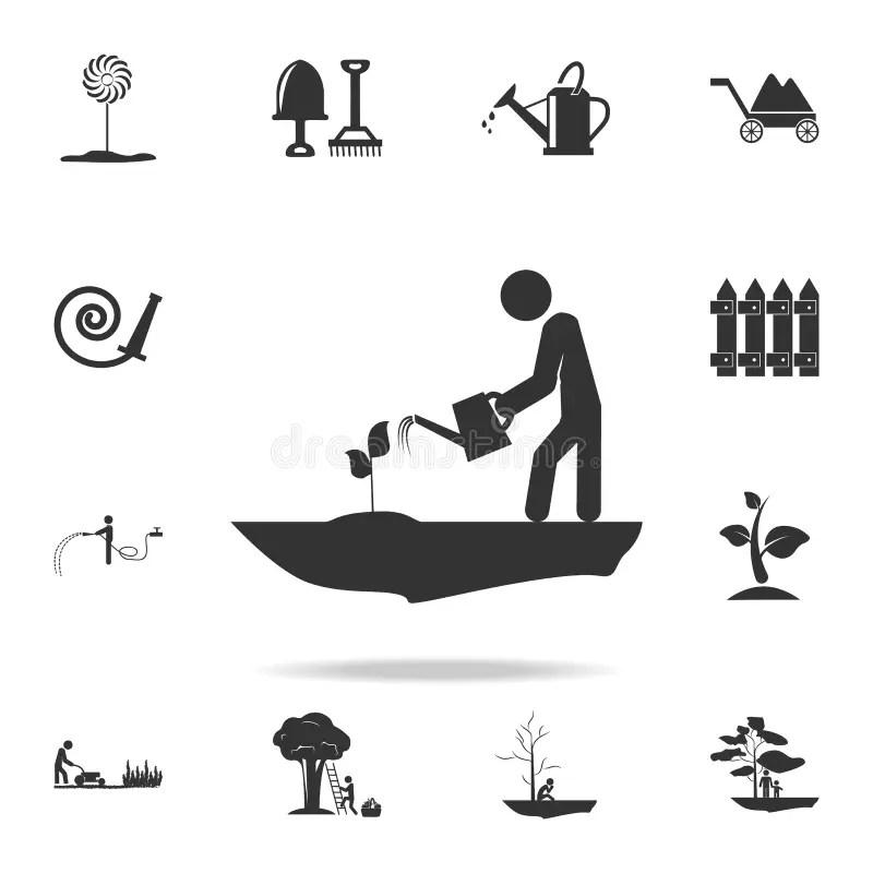 Plant Worker Graphic stock illustration. Illustration of