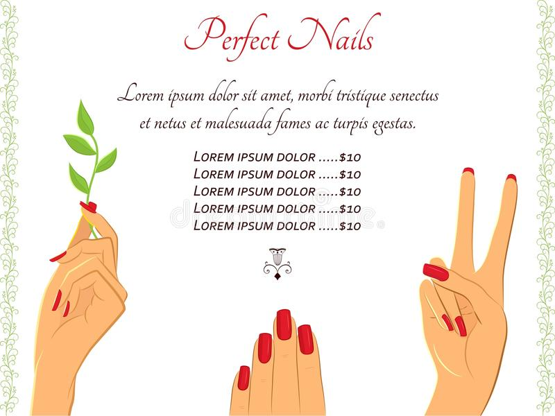 pricelist template beauty