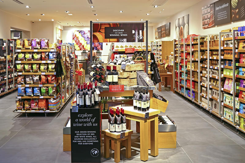 Marks & Spencer Foods And Wines Store In Hong Kong Editorial Photography - Image: 59603192