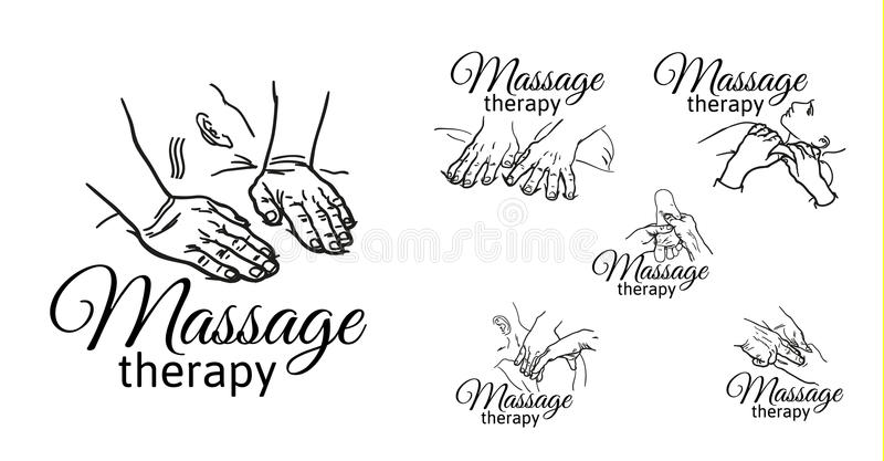 Do Massagem Vetor Wellness Ilustrações, Vetores E Clipart