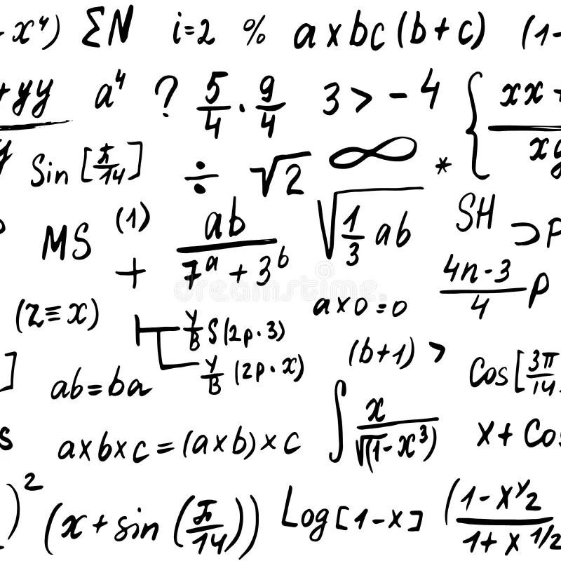 Math equations stock illustration. Illustration of diverse