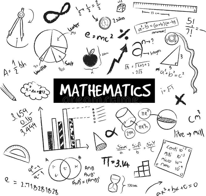 Math Theory And Mathematical Formula And Model Or Graph