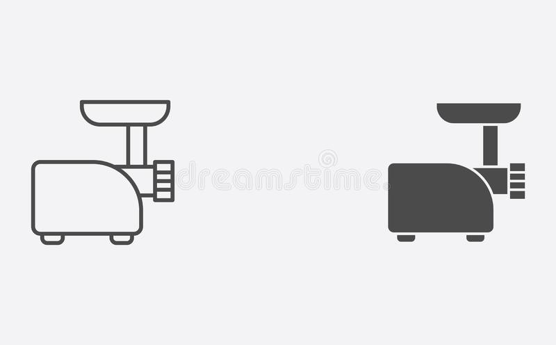Mill filled outline icon stock vector. Illustration of