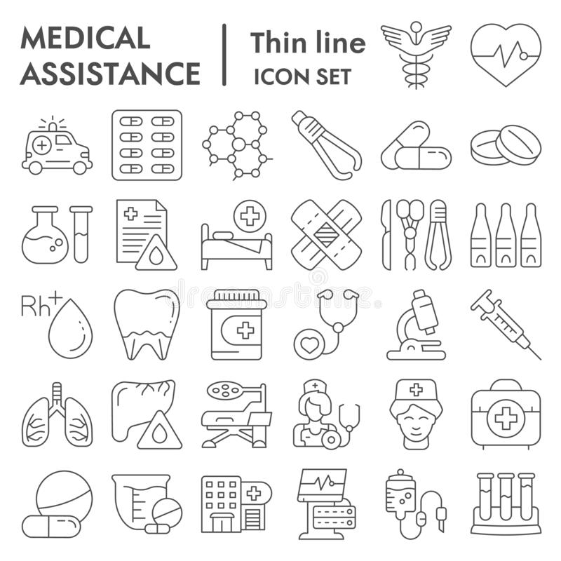 Medical Icon Set- Vector Medical Service Icons For