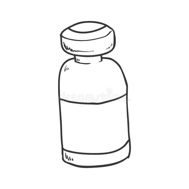 Medicine Jar Icon. Medical And Health Care Design. Vector