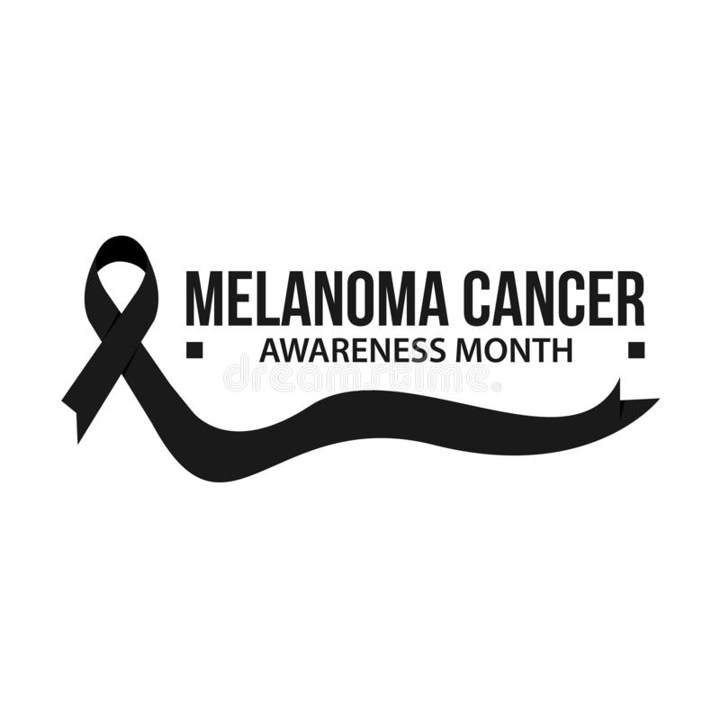 Awareness Month Ribbon Cancer. Liver Cancer Awareness