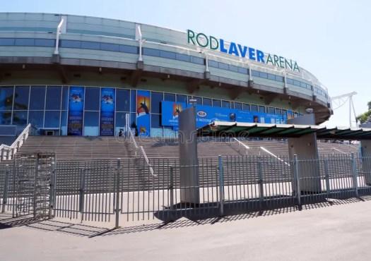 Rod Laver Arena At Australian Tennis Center In MELBOURNE ...