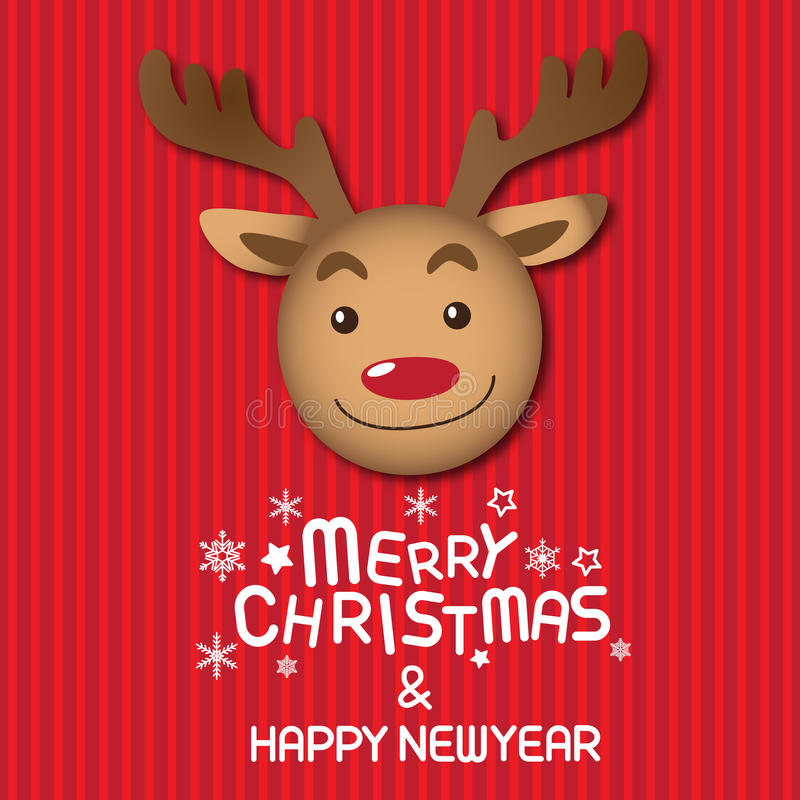 Clip Clip New Year Amp Reindeer Red Nosed Rudolph Xmas Art Art