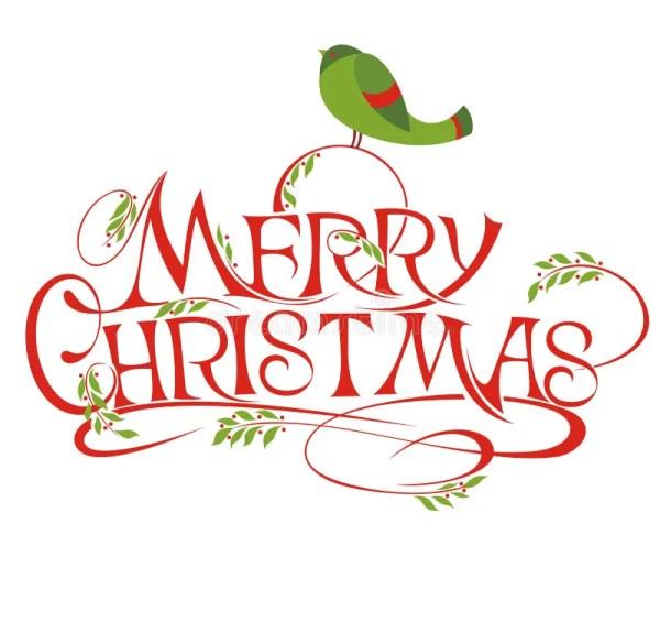 merry christmas stock vector. illustration