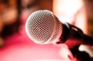 karaoke microphone pink background conference backgrounds phoenix cues sing voice law talk acquisition talent organization japan bar meditation