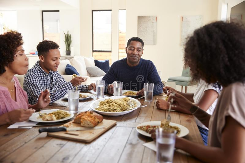 African Working Healthy American Out Family