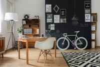 Modern Apartment With Hipster Design Stock Photo - Image ...