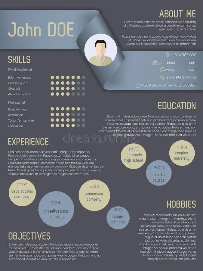 modern resume free
