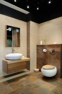 Modern restroom stock image. Image of detail, fittings ...