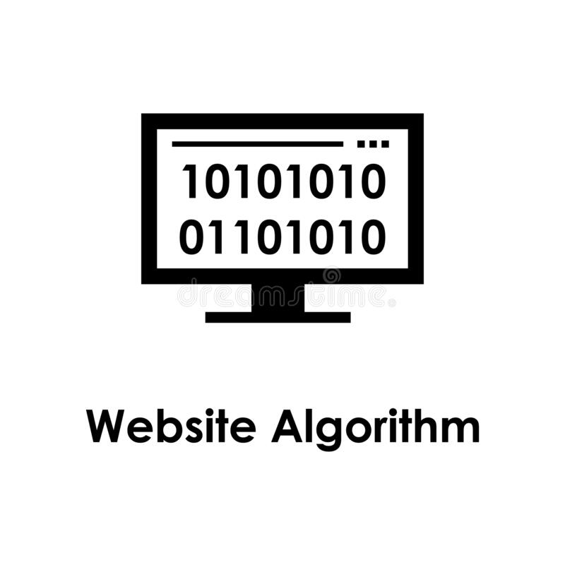 Algorithm, Design, Method, Model, Process White Glyph Icon