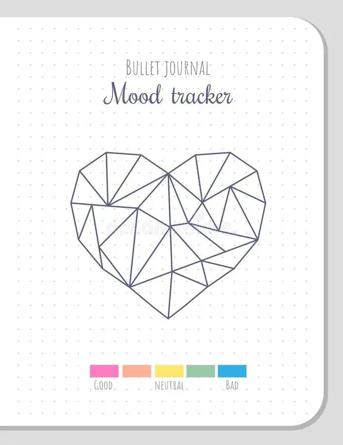 Mood Tracker Stock Illustrations