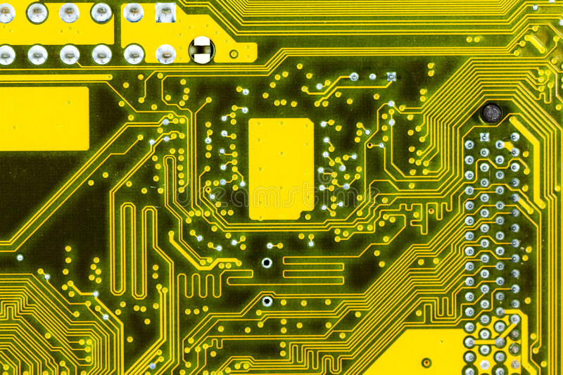 Motherboard. Royalty Free Stock Photos