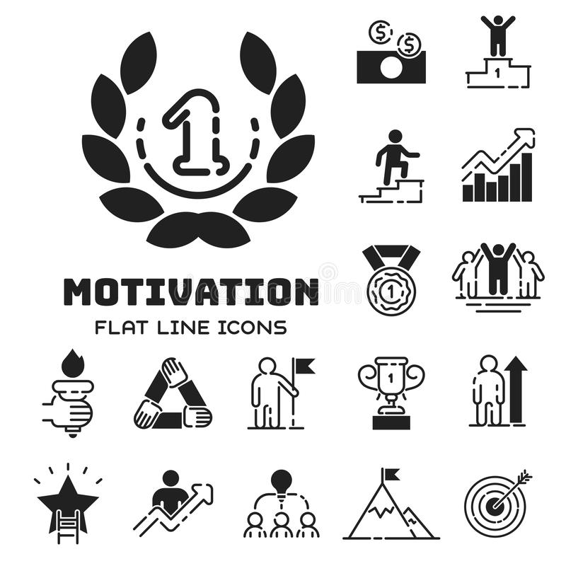 Motivation Concept Chart Icon Business Strategy