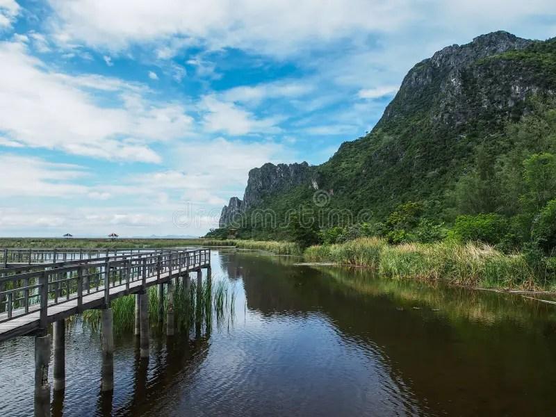 Park National Roi Sam Yot Night Khao Thailand Time