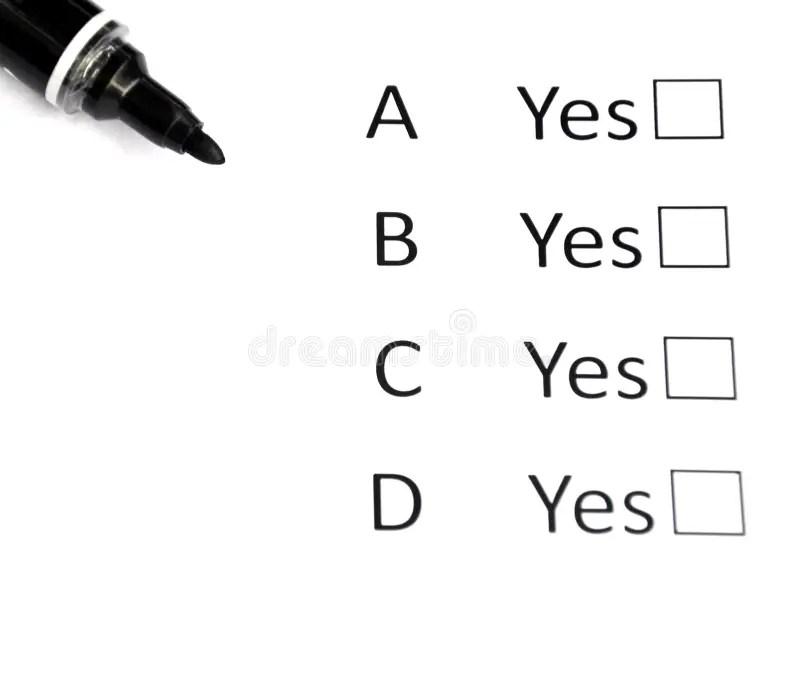 Multiple Choice stock image. Image of life, picking