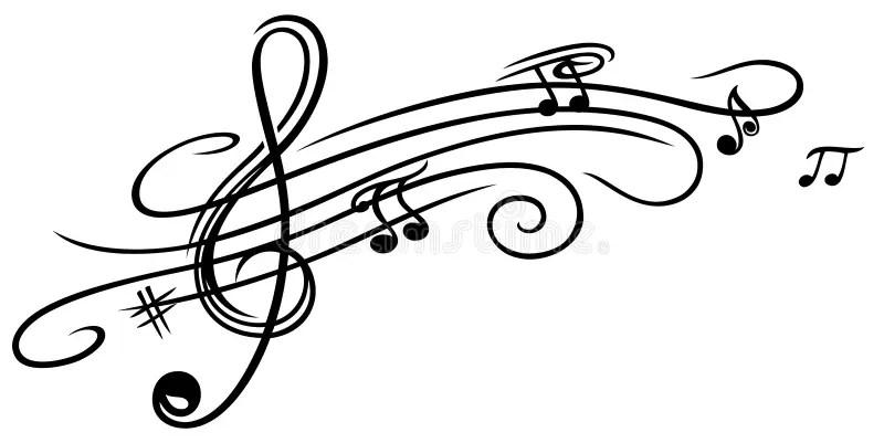 Musikblatt, Notenschlüssel stockbild. Bild von clef